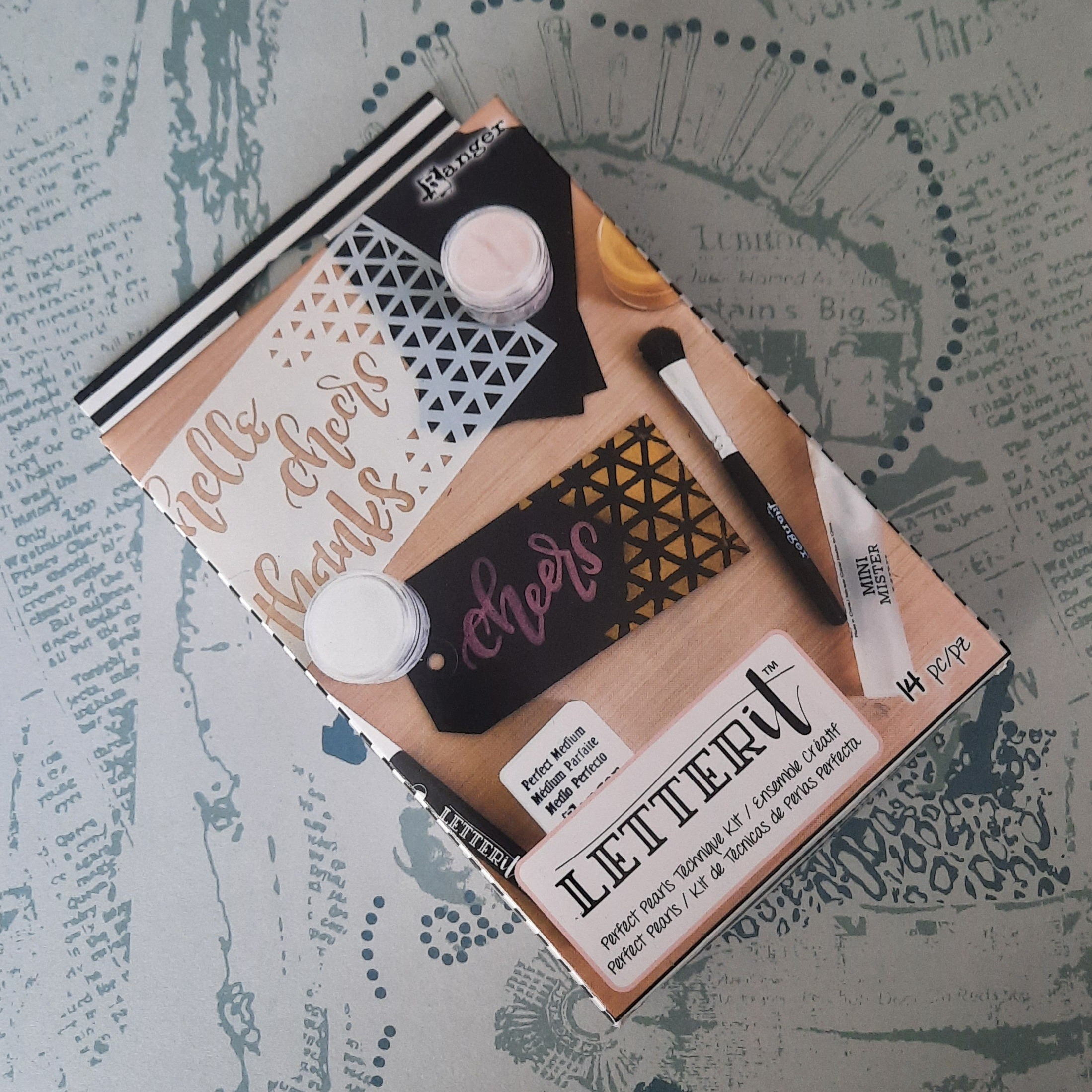 Letter it - Perfect Pearls Technique Kit