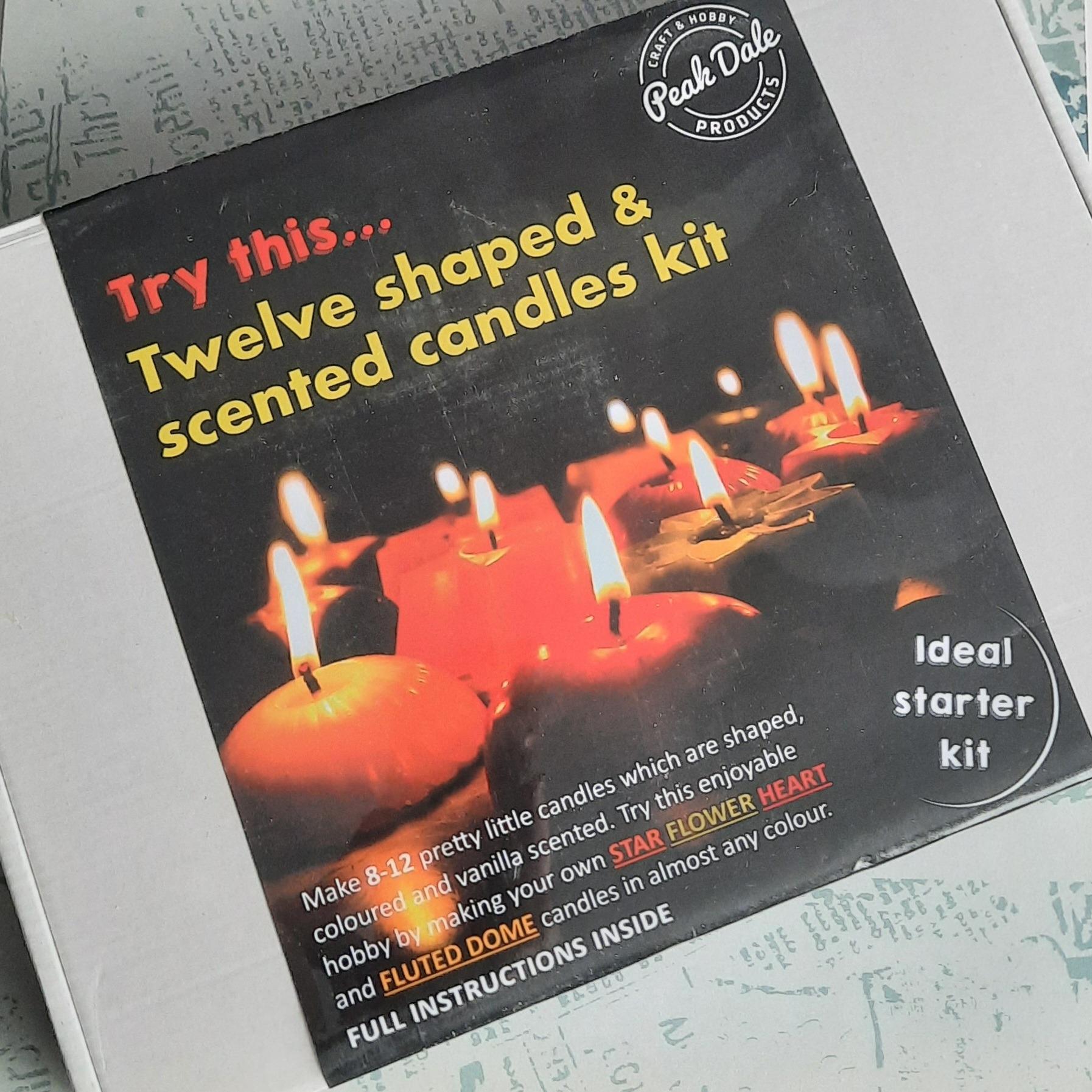 Candle Making Kit - Starter kit, makes 12