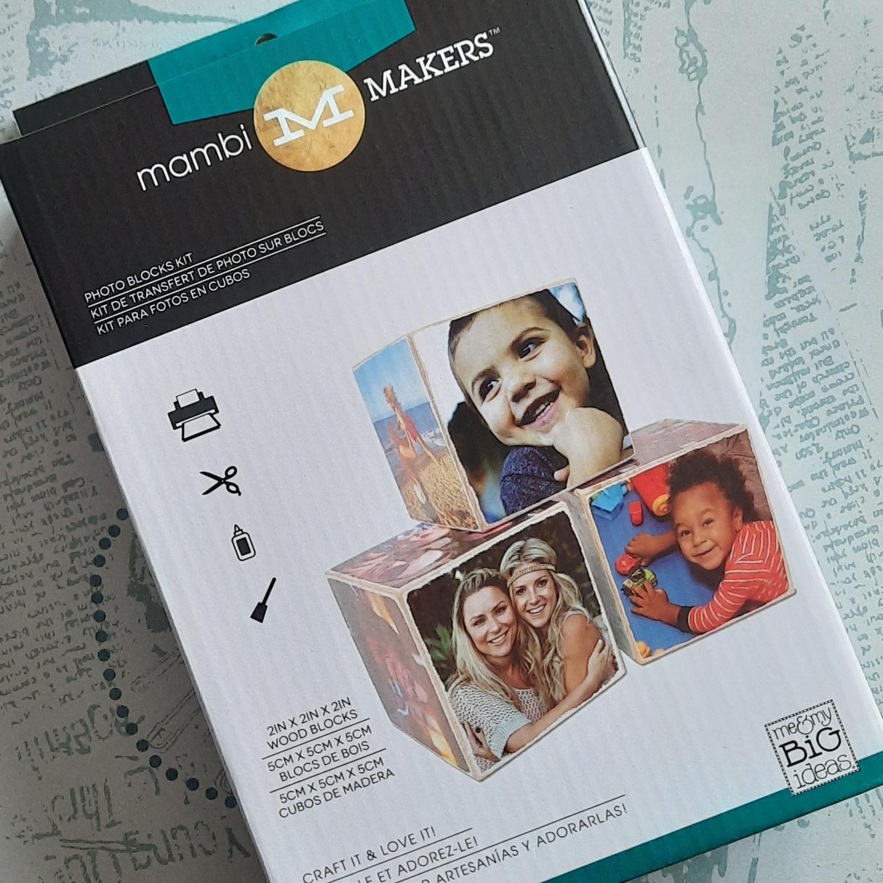 MAMBI Photo Blocks Kit