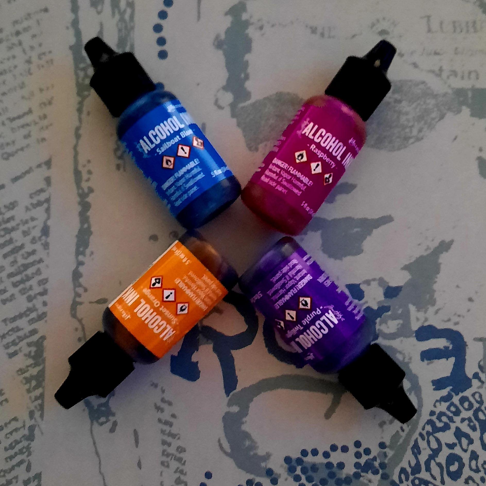 Tim Holtz Alcohol Inks (brights)