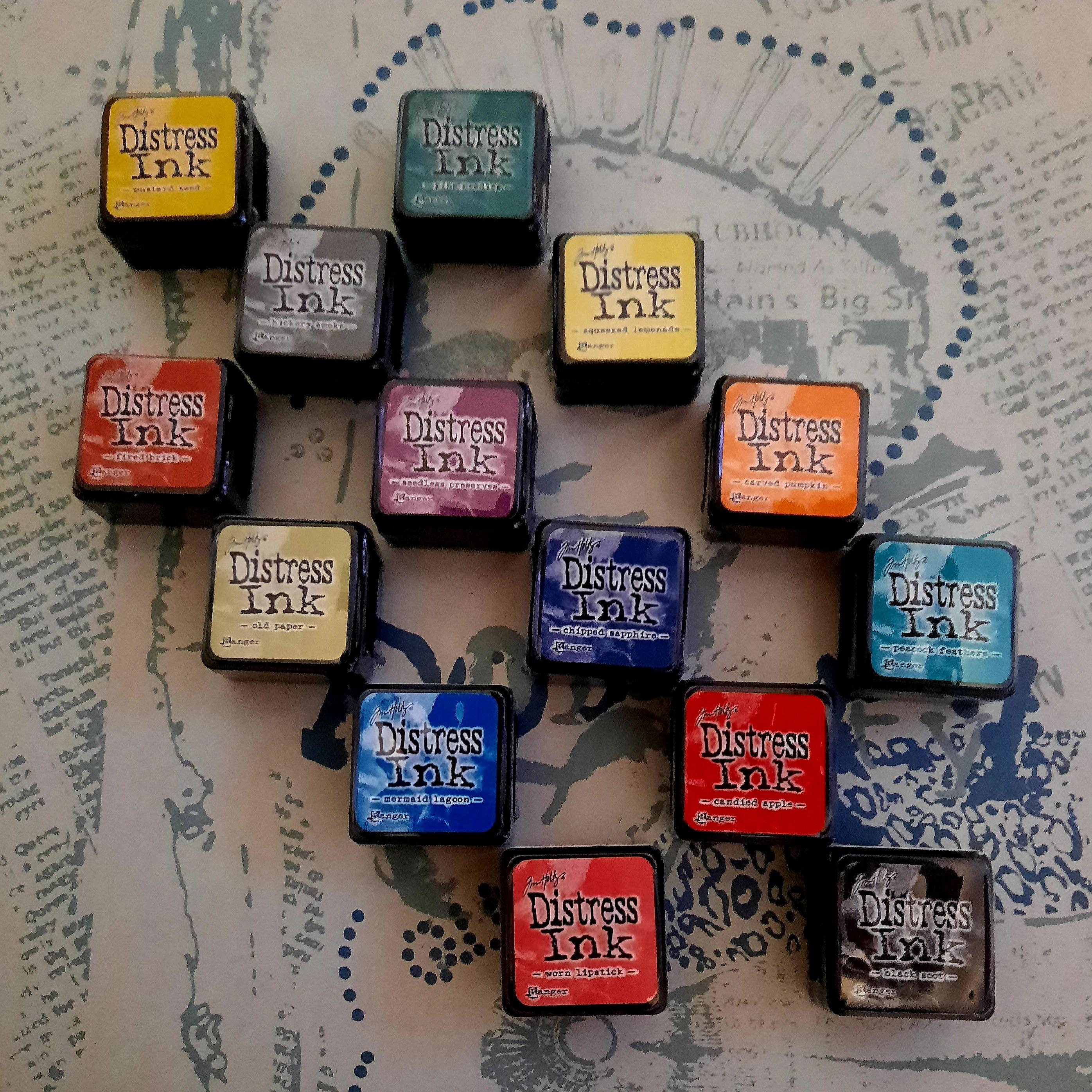 Tim Holtz Distress Ink Mini Cubes