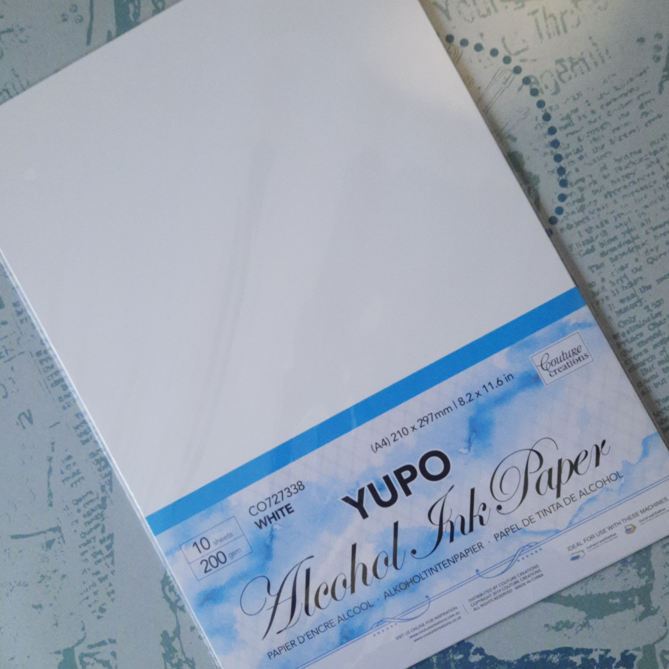 Yupo Paper A4 200gsm 10 pack