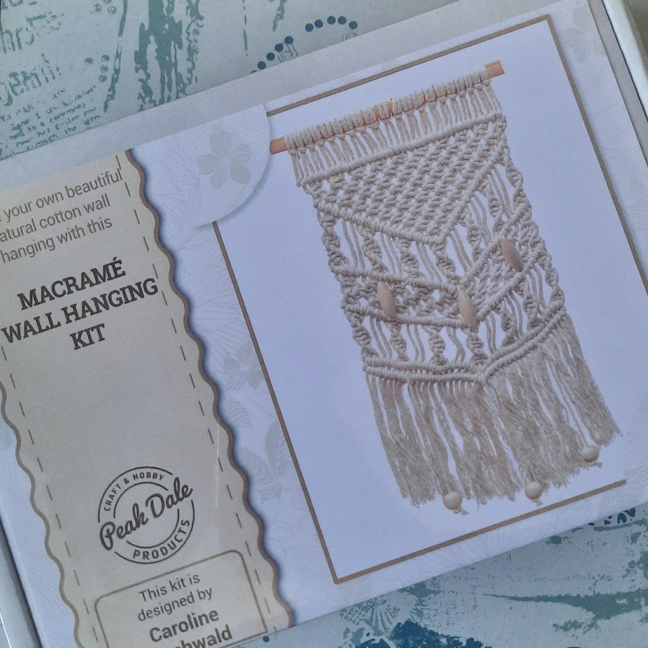 Macramé Wal Hanging Kit