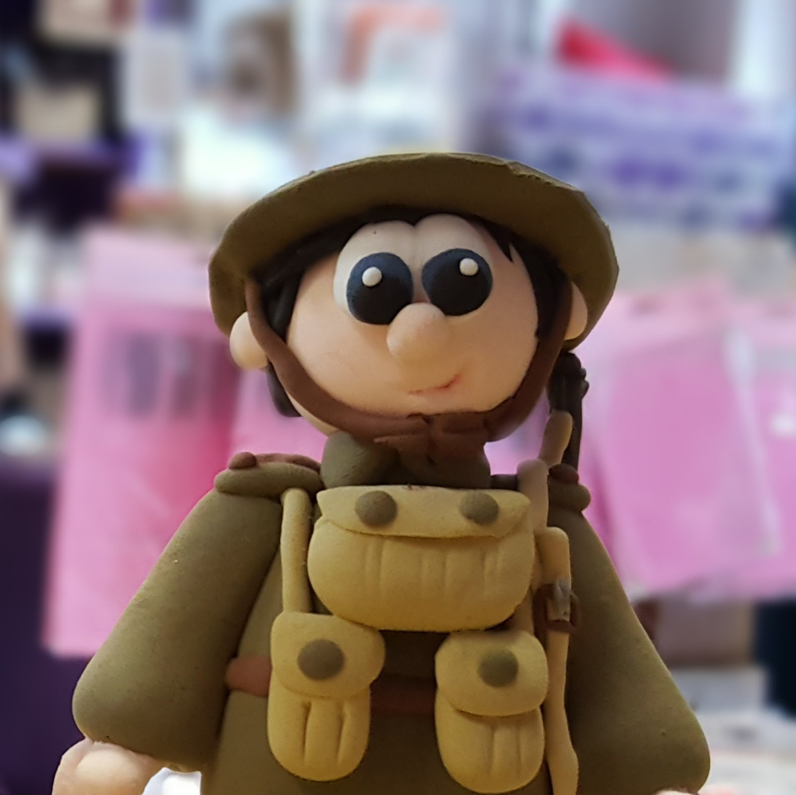 Military Inspired Figurine