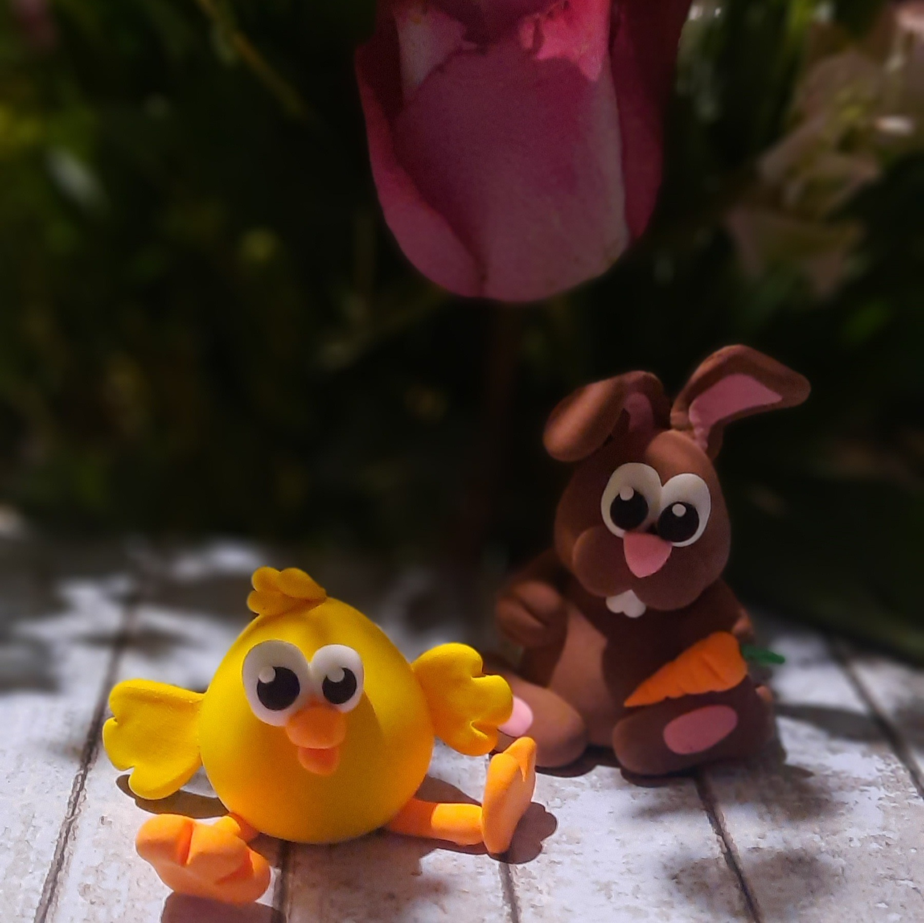 Easter themed clay kits