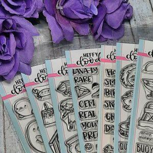 Heffy Doodle Stamp Sets