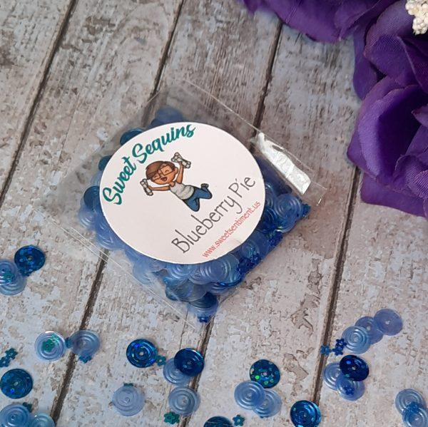 Sweet Sentiment Sweet Sequins Blueberry Pie