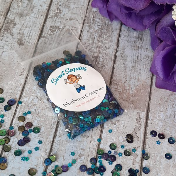 Sweet Sentiment Sweet Sequins Blueberry Compote