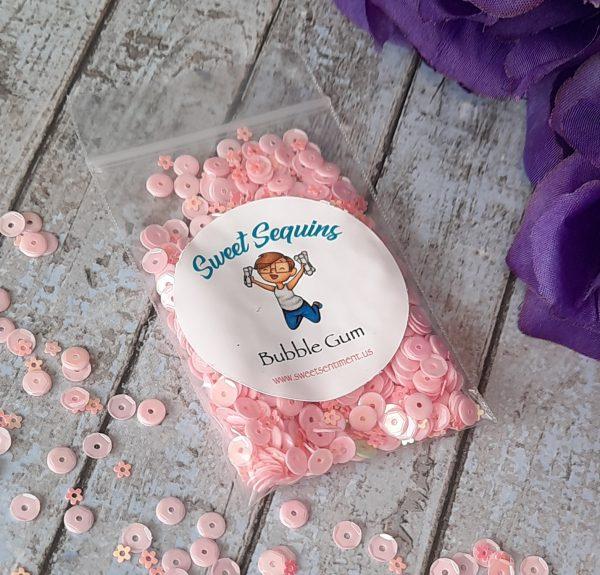 Sweet Sentiment Sweet Sequins Bubble Gum