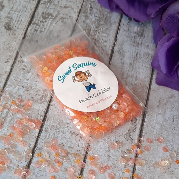 Sweet Sentiment Sweet Sequins Peach Cobbler
