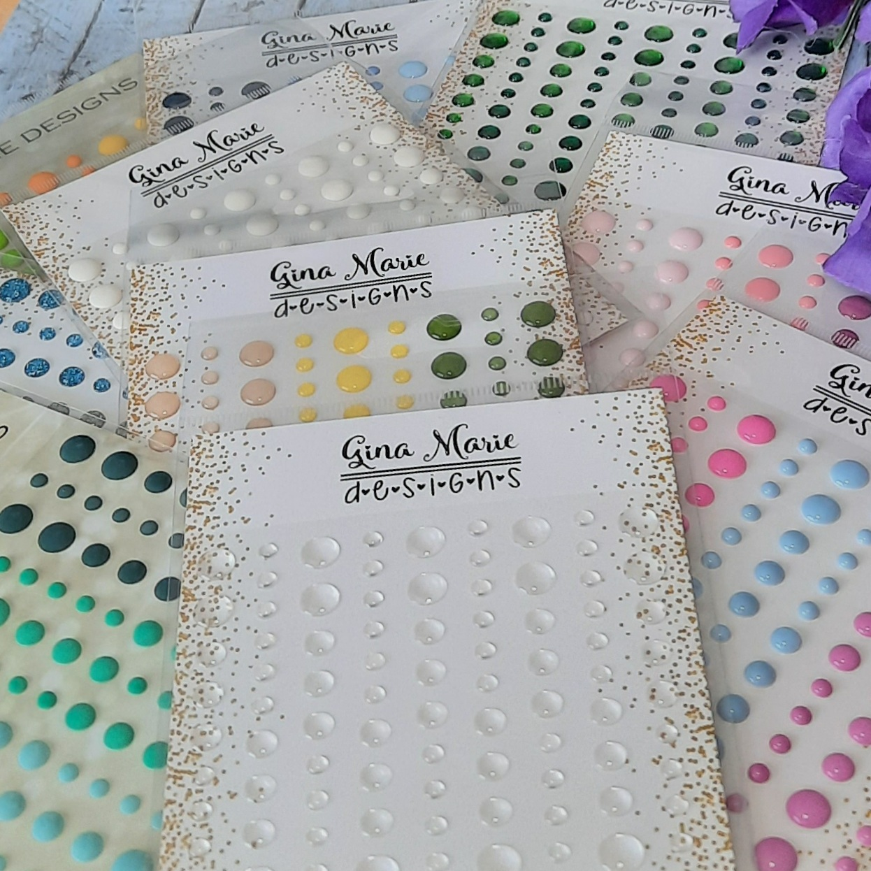 Gina Marie Designs Enamel Dots