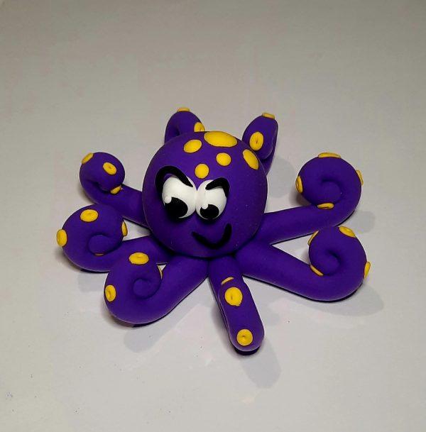 Octopus clay kit