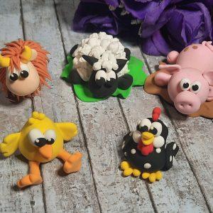 Jude Creates Clay Kits Farm Animals
