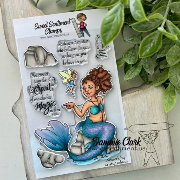Sweet Sentiment You Are Magical stamp set
