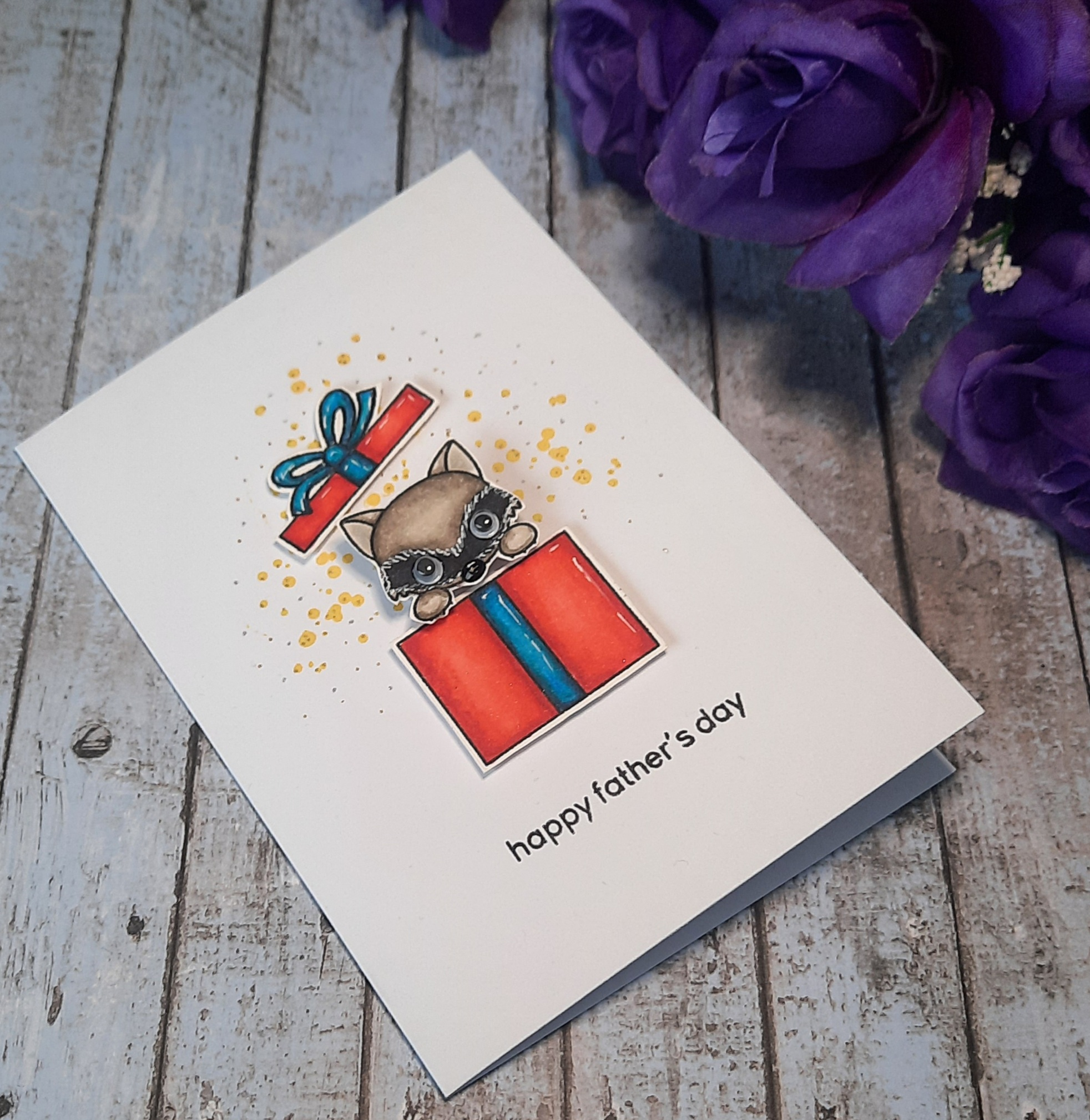 Handcrafted Card - Happy Father's Day