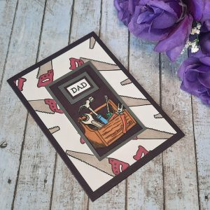 Handcrafted Card - Dad