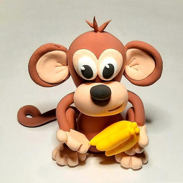 Jude Creates Clay Kits Zoo Animals Monkey