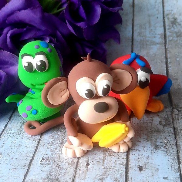 Jude Creates Clay Kits Zoo Animals