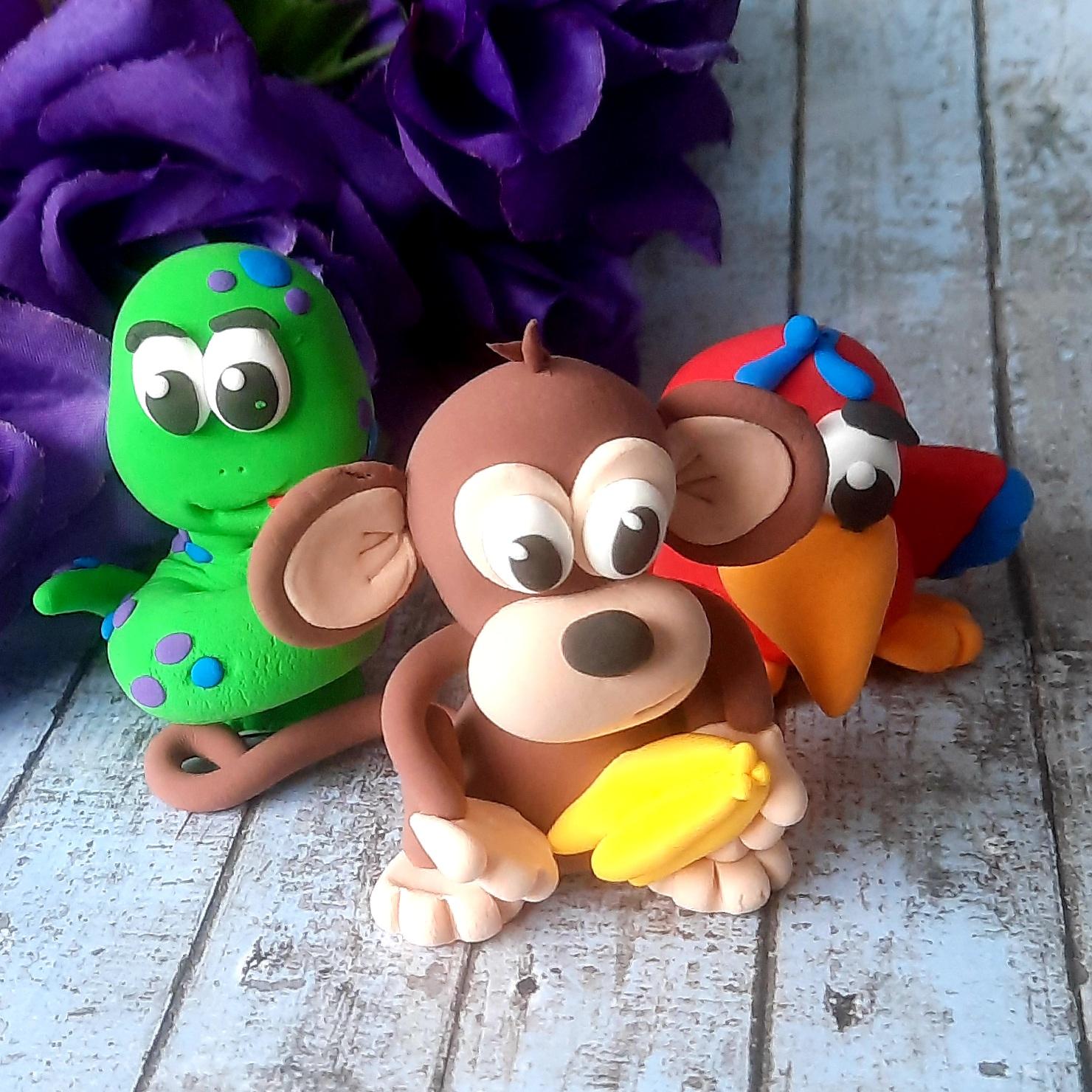 Judes Clay Zoo Animal themed clay kits