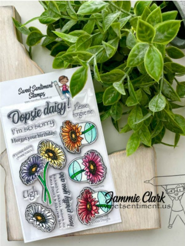 Sweet Sentiment July Release Oopsie Daisy Stamp Set