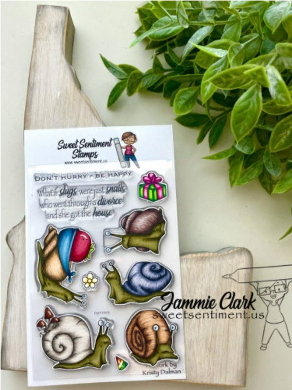 Sweet Sentiment July Release Don't Hurry Stamp Set