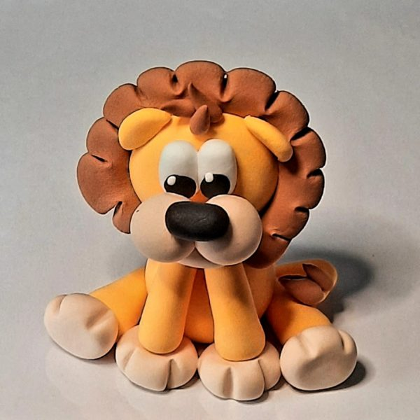 Jude Creates Clay kits Zoo Animals Lion
