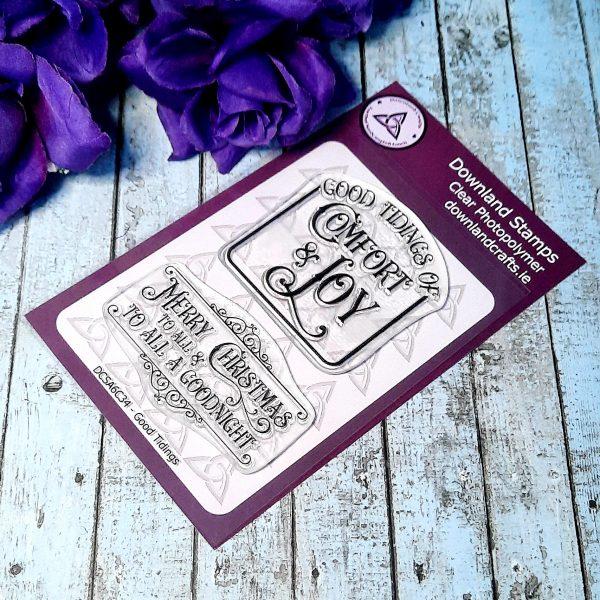 Downland Crafts Good Tidings Stamp Set