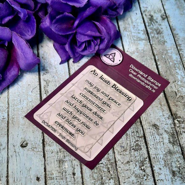 Download Crafts Irish Blessing Stamp Set