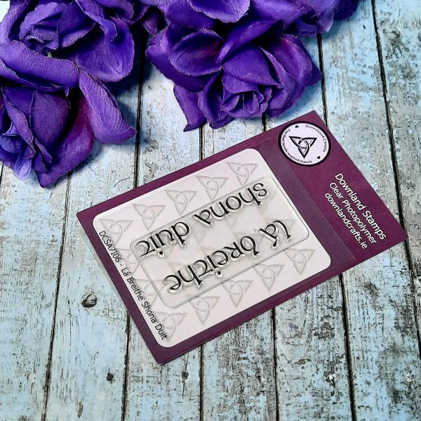 Downland Crafts La Breithe Shona Duit Stamp Set