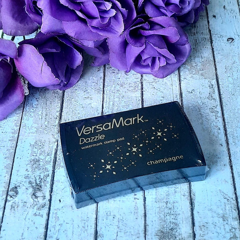 VersMark Dazzle Watermark stamp pad Champagne