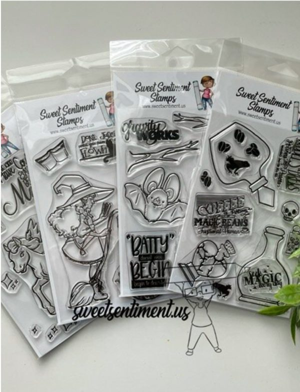 Sweet Sentiment September Release Stamps